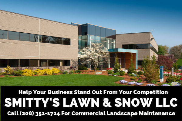 commercial landscape maintenance in Idaho Falls