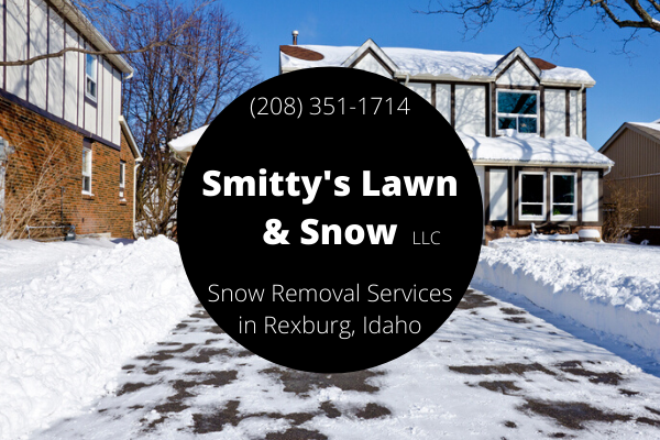 snow removal services in Rexburg ID