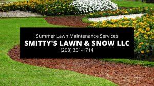 Rexburg Summer Lawn Maintenance